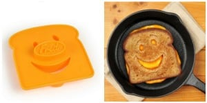 Kitschy Smiley Face Sandwich