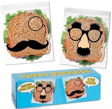 Sandwich Bags with a Disguise