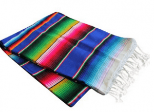 Mexican Blanket Tablecloth for Cinco De Mayo