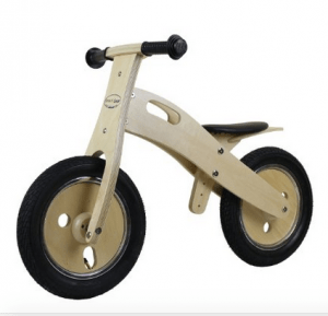 Smart Gear wooden balance bike for kids