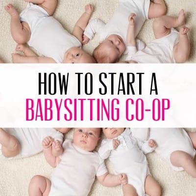 Create a Babysitting Co-op
