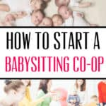 Why You Should Create a Babysitting Co-op with Friends