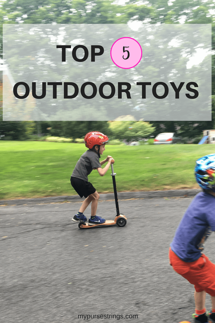 Want to get your children outside enjoying the nice weather? This is the ultimate list of outdoor toys to make any kid happy. And, they will use these toys year after year!