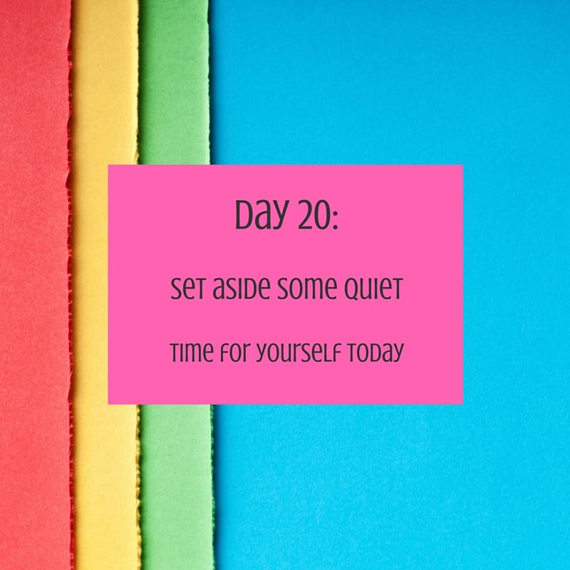 30 day challenge day 20