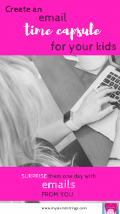 set up an email address for your kids