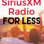 listening to siriusxm radio in the car. find out how to get cheap siriusxm radio plans.