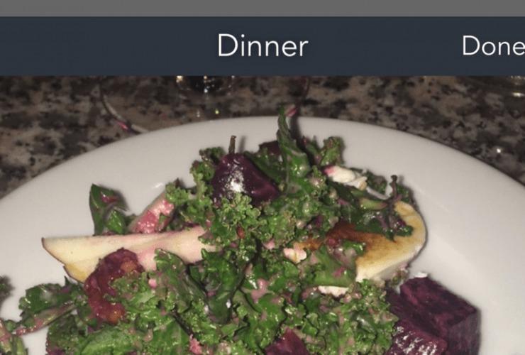 Create a Photo Food Journal with the Snap It App