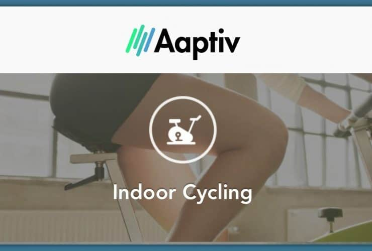 Work Out Using the Aaptiv App on your Spin Bike