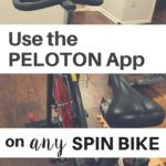Peloton App any Spin Bike