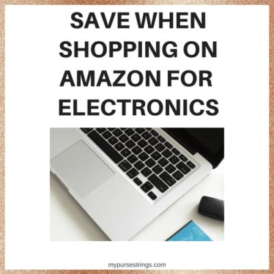 Save money on Amazon Electronics