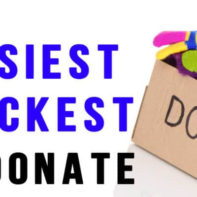 Easiest Way to Donate with Give Back Box