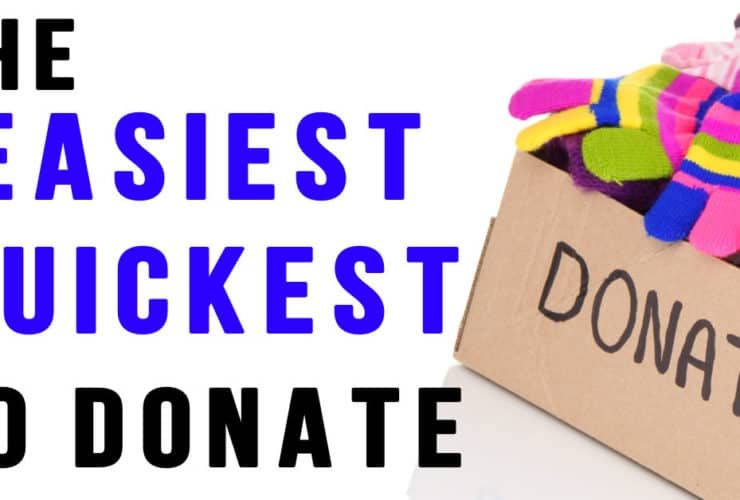 Give Back Box: Declutter, Recycle and Donate in under Five Minutes
