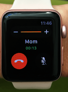 receive and make phone calls with the Apple Watch