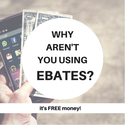 Why Aren't You Using Ebates