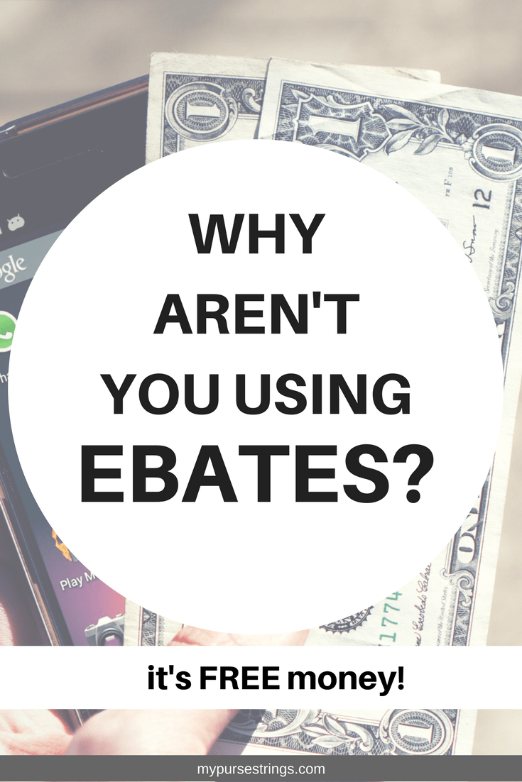 Every time you shop, you should be using Ebates. Period. It's like free money. I've gotten back hundreds of dollars each year. #Ebates #savings #shopping #apps