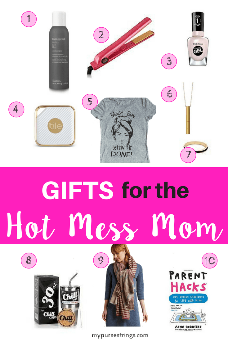 Shopping for a Hot Mess Mom? Maybe you are shopping for yourself. The ultimate gift guide for the hot mess mom. Look more put together and make life easier. #momlife #gifts #holiday #birthdays #giftguide