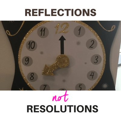 Reflections not resolutions