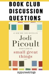small great things book club discussion questions pinterest