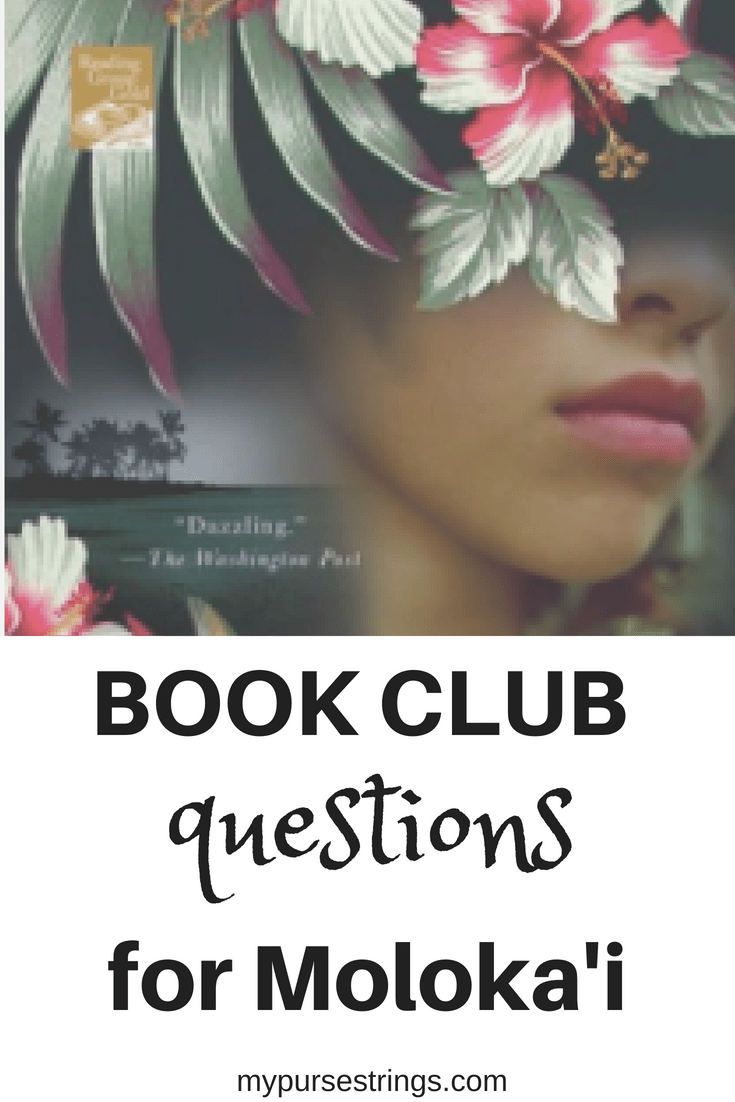 book club discussion questions for Moloka'i