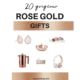 20 Gorgeous Rose Gold Gift Ideas