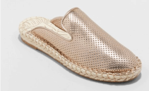 Target Elaine Espadrille Mules Rose Gold Gift