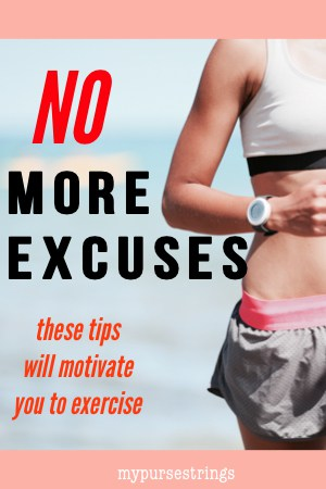 girl running. tips to motivate you to workout. no more excuses.