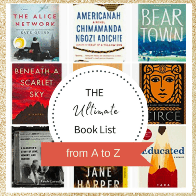 Book List Titles A to Z