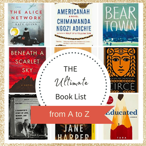 The Ultimate List of Books from A to Z