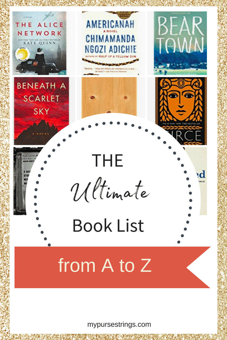 reading list A to Z titles