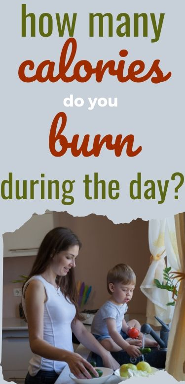 how many calories do you burn during the day