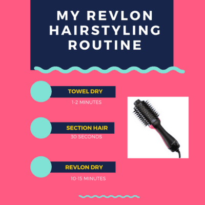 revlon one-step hairstyling brush