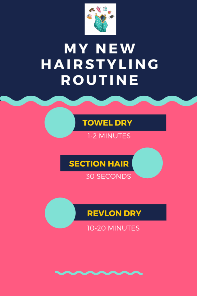 Revlon One-Step Hair Dryer Brush Routine
