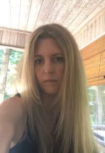 Selfie after using Revlon Hair Dryer