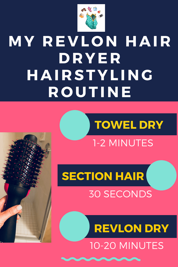 The Revlon One-Step Hair Dryer and Volumizer will give you a salon-looking blowout in minutes. It's a brush and a hairdryer and it's amazing! Read the blog for the full review. #hairdryer #hairstyles #blowout #beauty #dyson