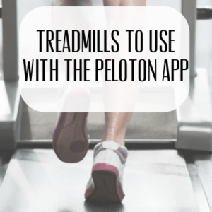 Treadmills to use with the Peloton App that you can buy on Amazon