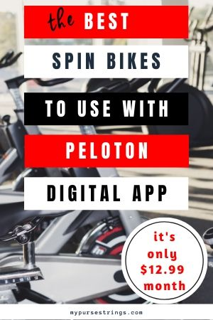 peloton spin bike alternatives for 12 dollars per month