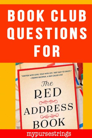 Book Club Questions for The Red Address Book blog post