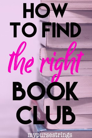 tips to find the right book club for you