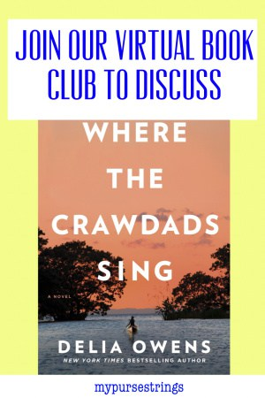 join our virtual book club where the crawdads sing pinterest image