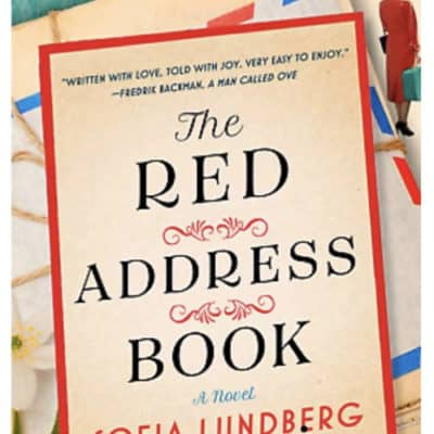 The Red Address Book Book Cover Virtual Book Club