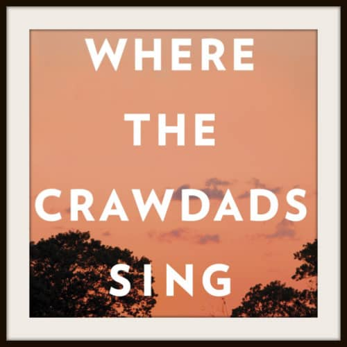Where the Crawdads Sing Virtual Book Club Book Cover Featured Image