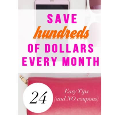 save hundreds of dollars every month