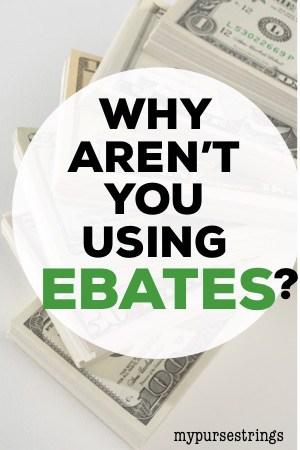 use ebates to save money