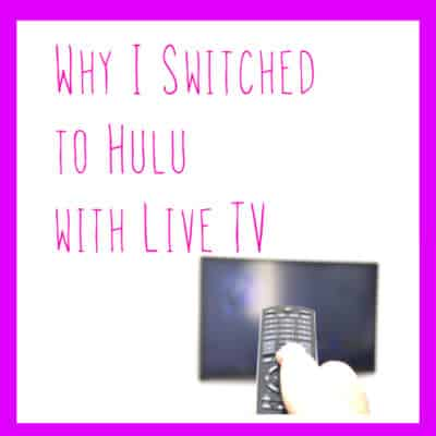 switched to hulu live