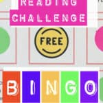 reading challenge bingo board to motivate and help you pick new books