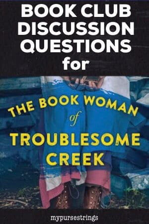 book club discussion questions for book woman troublesome creek