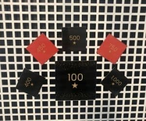 Peloton inspired milestone magnets