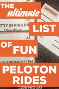 ultimate list of fun peloton rides
