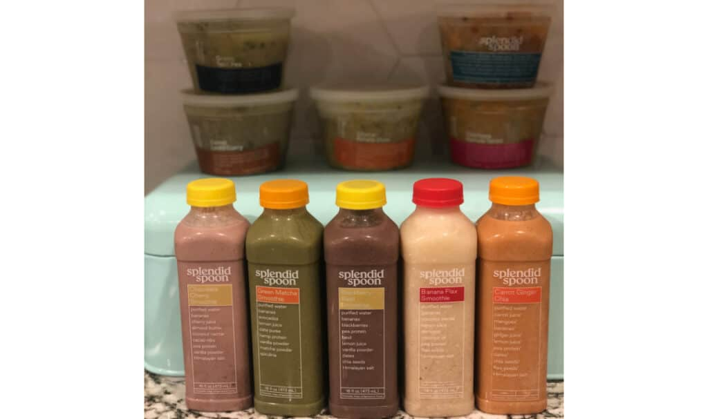 smoothies and soups