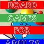 list of the best board games for adults to play